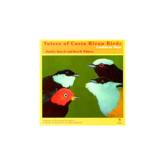 Voices of Costa Rican Birds, Caribbean Slope CD