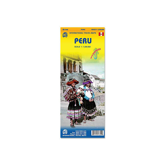 Peru Travel Reference Map