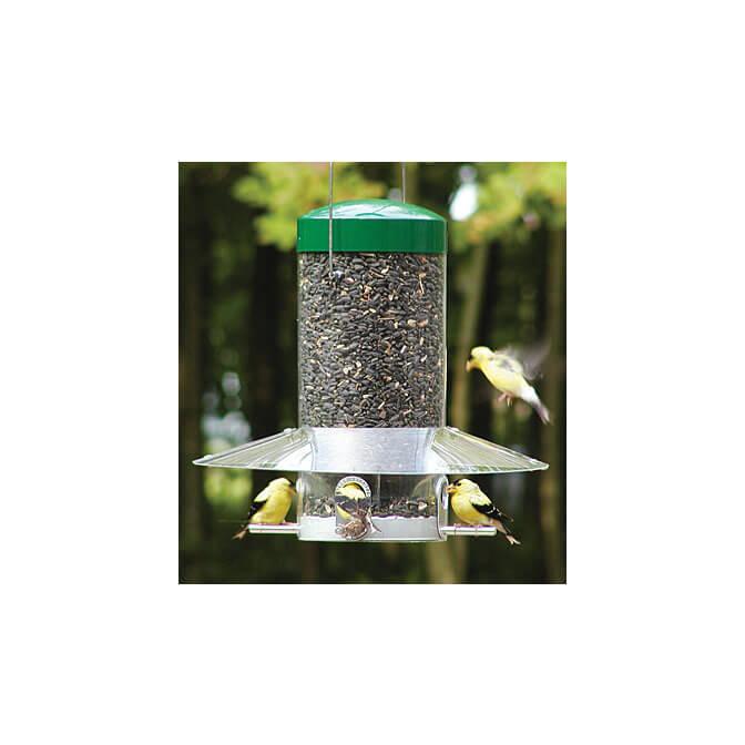 classic 12″ hanging bird feeder