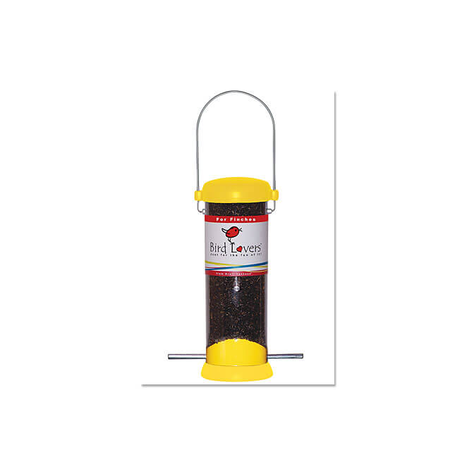 Bird Lovers 8 inch Finch Feeder
