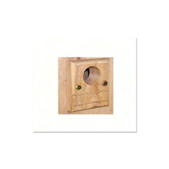Wood Bluebird House Predator Guard