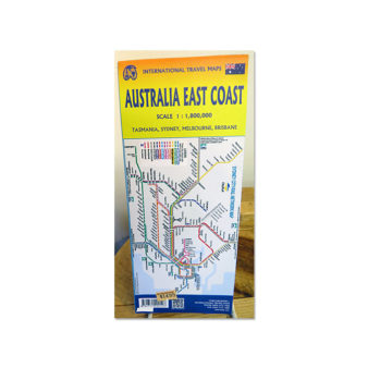 best map of Australia East Coast