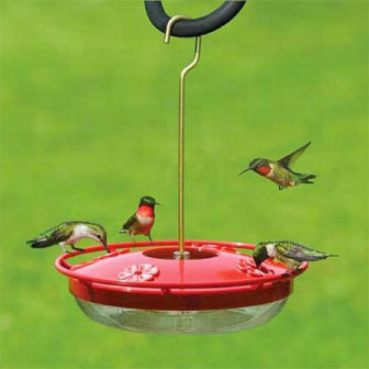 Hummingbird Feeders, available at The Audubon Shop, the best store for birders, Madison, CT