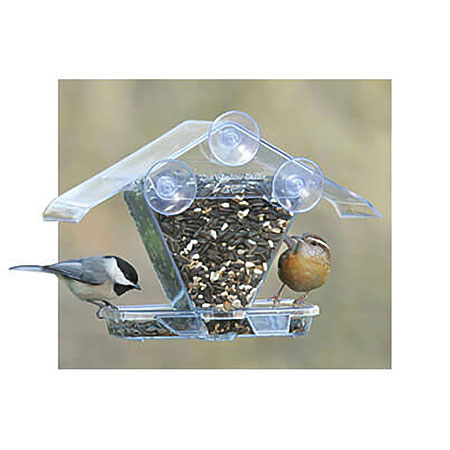 Window Bird Feeders, available at The Audubon Shop, the best shop for birders, Madison CT.