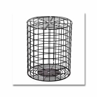 13 inch Wire Cage for bird feeders,available at The Audubon Shop, the best shop for bird watchers, Madison CT